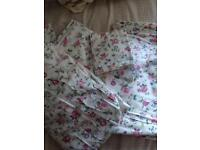 Bed linen set (2x), vintage, shabby, country style