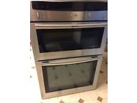 Neff s/s double oven and s/s gas hob in very good condition buyer collects