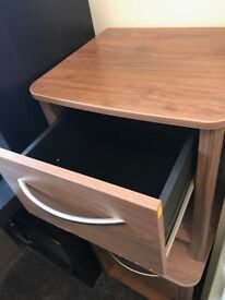 Barely used bedside cabinets x 2