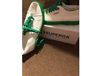 Superga - Light White / Green