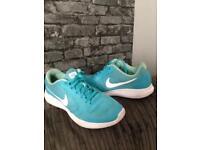 Genuine Aqua Nike Evolution 3 trainers