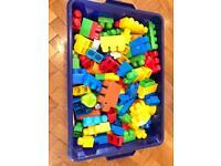 Kids lego bricks.