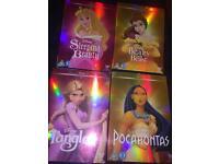 4 Disney classics DVDs