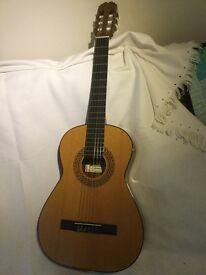 Three quarter size guitar