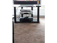 Black glass tv unit like newquuck sale