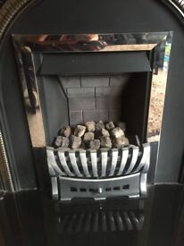 Gas fire first class condition not used much so in mint state.
