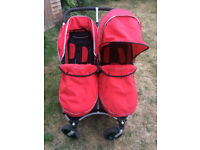 StrollAir Double Buggy - good condition and thoroughly cleaned