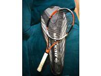 Dunlop tennis racquet
