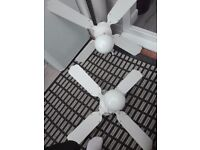 Celling lights with fan.used.good condition