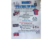 Table top sale. Brand new, handmade, gifts and lots more.
