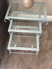 3 Glass / coffee tables