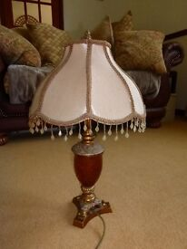 Large Brown Table Lamp