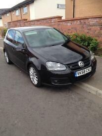 2008 VW GOLF GT TDI TAXED AND MOTD £2500 ONO