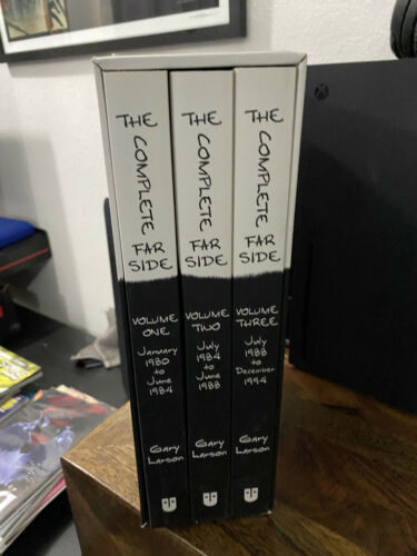 The Complete Far Side by Gary Larson 3 Book Box Set Comic Strip Collection