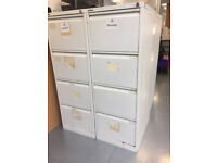 Filing cabinets for sale £20 EACH. 4 drawers. COLLECTION ONLY