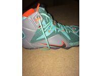 Nike lebron 12 size 9.5