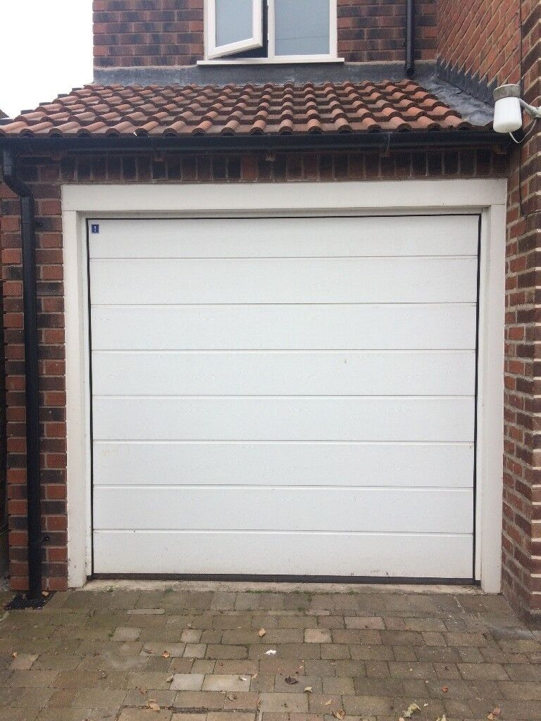 Electric Single Sectional Garage Door Hormann Germany Urgent In