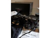 X100 Fujifilm x100 limited edition black with tele converter and wide converter lenses
