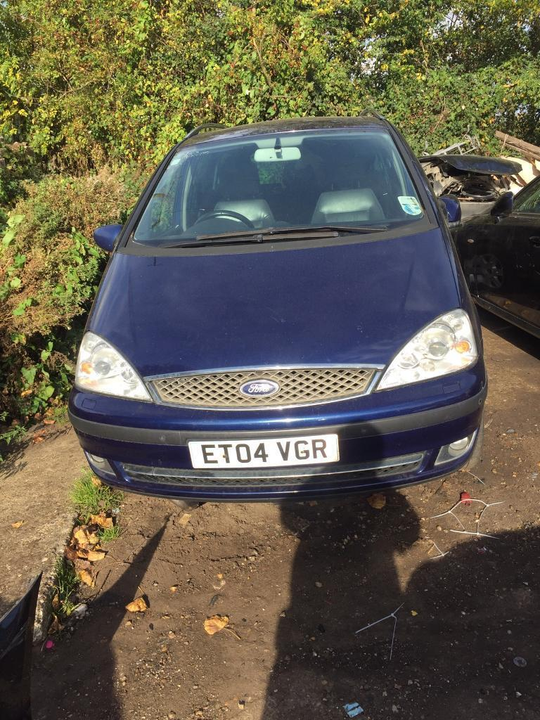 Ford galaxy 1.9 tdi fully loaded spares or repaires