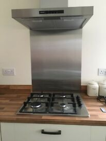 Siemens LC64BA521B stainless steel iQ100 600mm chimney hood