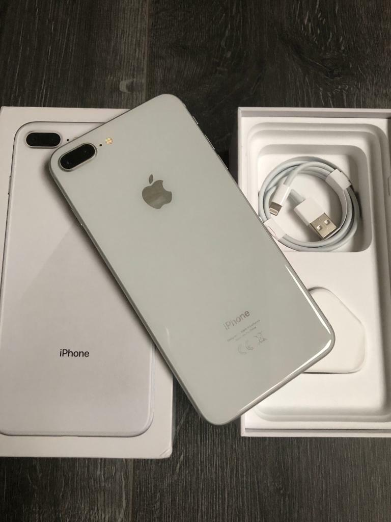 Iphone 8 plus 64GB unlocked to all networks silver excellent condition | in  Dudley, West Midlands | Gumtree