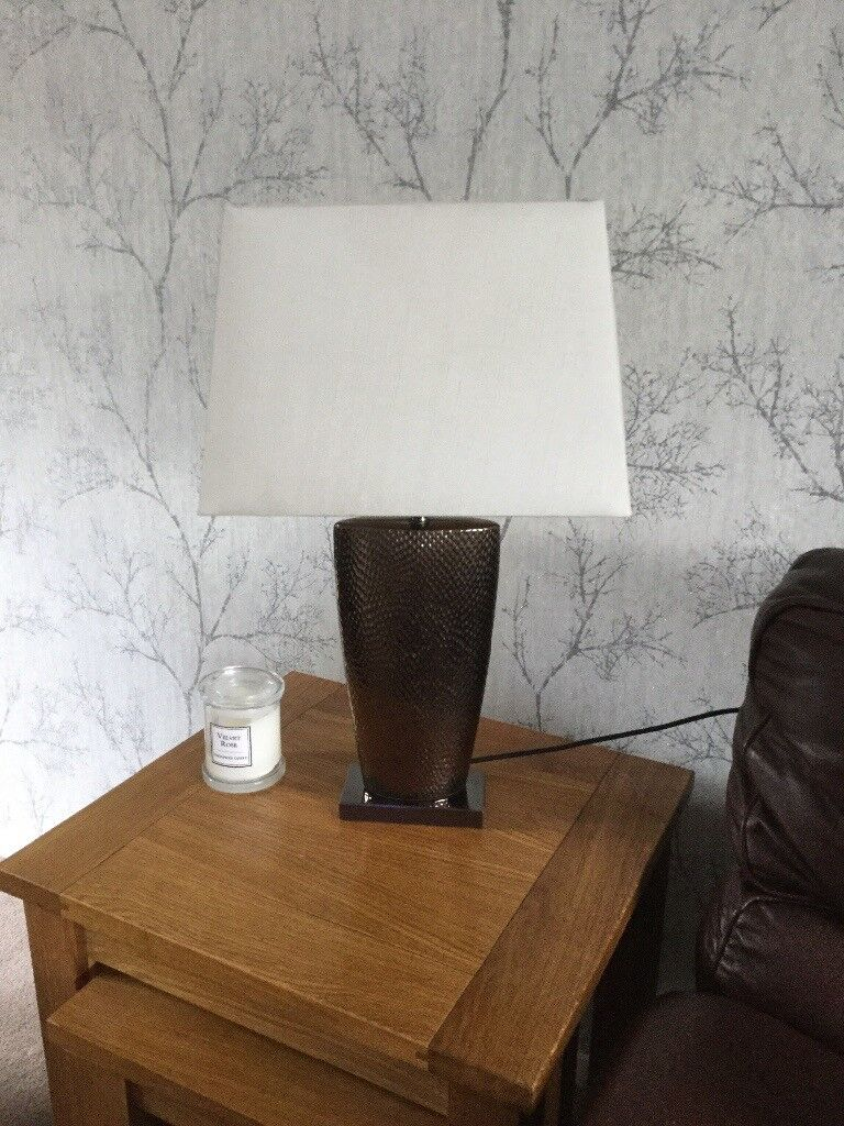 Two table lamps - will sell separately