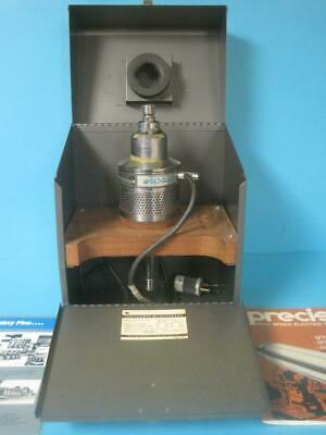 Precise Corp. Fixed Centerline Spindle Cat. 1156 600w 45000rpm Wcase Manual 556