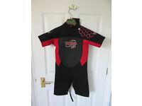 Child's wetsuit age 7-8