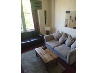 Short term Double room to let in luxurious retro flat.