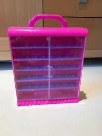 Shopkins toy display case - £3