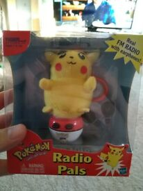 Pokemon radio pals, UNOPEN.
