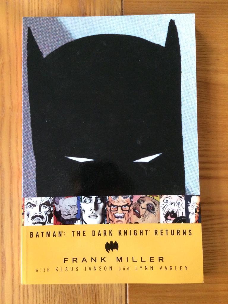 Batman The Dark Knight Returns Graphic Novel