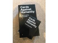 Cards Against Humanity plus expansion pack