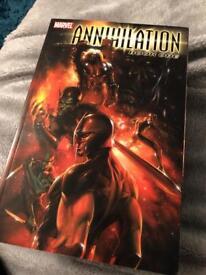 Annihilation Book One Marvel