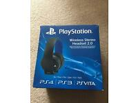 PlayStation headset
