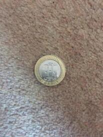 London Underground £2 coin