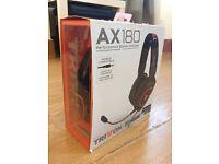 TRITTON AX180 HEADSET FOR PS4/3 XBOX 360 & PC/MAC & Wii U