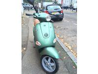 Piaggio Vespa ET4 125cc (Green) Good Condition low mileage