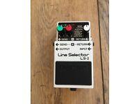 Boss LS-2 Line Selector / Switcher / Blender / Utility pedal - Guitar / Bass