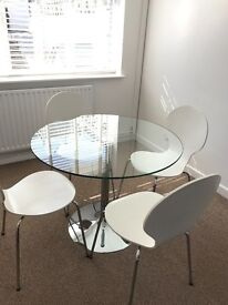 John Lewis Dining Table & Chairs Set