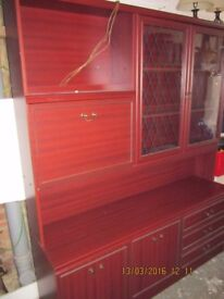 Large display cabinet, very good condition, only £40.00