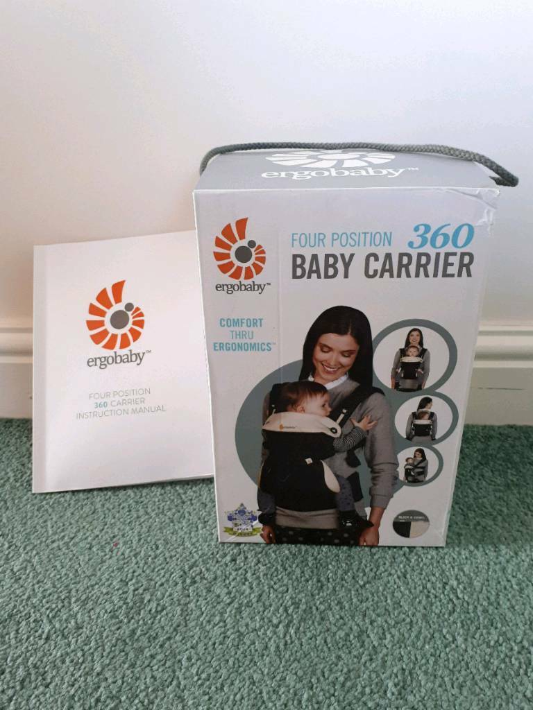 Ergobaby 360 Four Position Baby Carrier Liberty Sling Adjustable