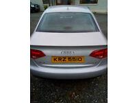 2010 Audi A4 2.0 TDI 143, SE, Multitronic Auto, Rear Parking Sensors. 12 months MOT
