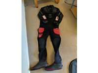 Northern Diver dive master neoprene drysuit with latex seals