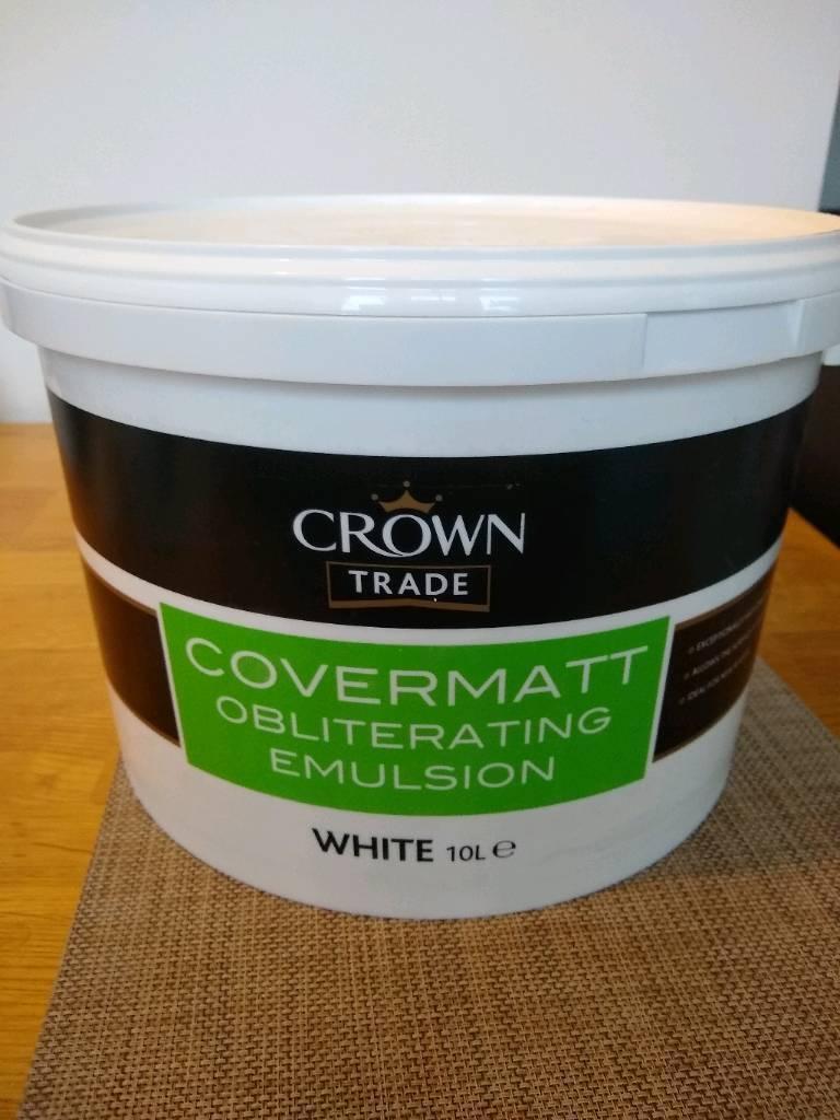 CROWN TRADE COVERMATT EMULSION | in Maidstone, Kent | Gumtree