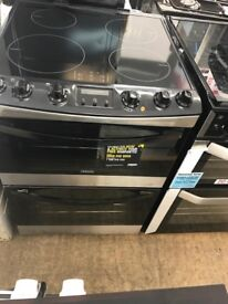 Ex display Zanussi ZCI68300XA 60cm Electric Induction Double Oven - Stainless Steel