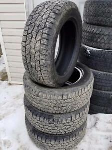 "275/55r20 Hankook Dynapro AT-M Used set of 4. Good tread. Priced to sell 20"" 275/55/20"