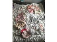 Baby Girl Clothing Bundle first size