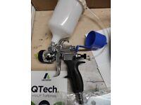 Gravity spray gun 3QTech with turbine