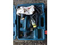 Bosch 110 volt planer in great condition
